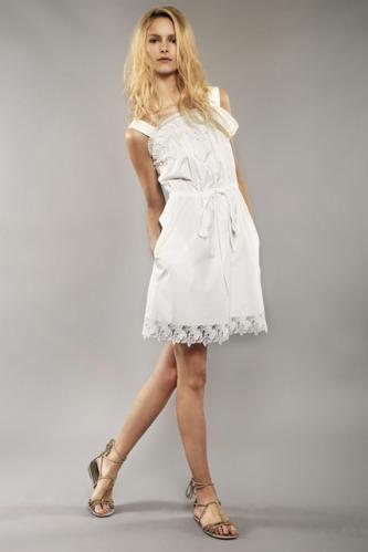 La mode des robes de france robes chic italienne - Robe blanche hippie chic ...