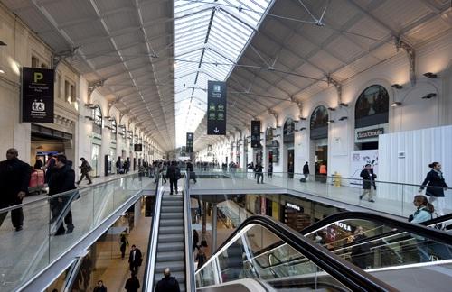 La nouvelle galerie marchande gare Saint-Lazare