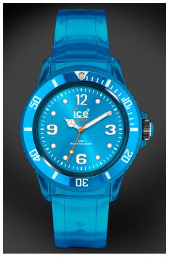 Les accessoires mode tendance color block t 2011 - Montre ice watch bleu turquoise ...