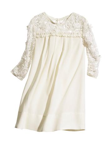 robe en dentelle blanche h m. Black Bedroom Furniture Sets. Home Design Ideas