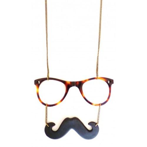 la mode de2013 Un-sautoir-en-bronze