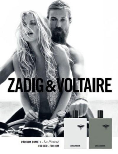 zadig voltaire lance deux parfums for him et for her. Black Bedroom Furniture Sets. Home Design Ideas