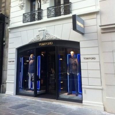 La boutique Tom Ford à Paris