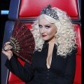 Christina Aguilera mène la danse dans the Voice